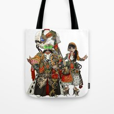 Cyber Sultan and Sultana.  Tote Bag