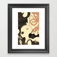 Para-pluie (color) Framed Art Print