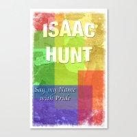 Isaac Canvas Print