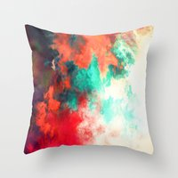Painted Clouds VIII Throw Pillow