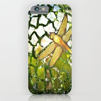 iPhone & iPod Case featuring Fly High Dragonfly. by Lilly Guastella