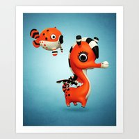 Seagasus Art Print