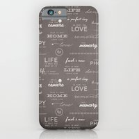 iPhone & iPod Case featuring Life on a Chalkboard by KIMBERLY SABEL STUDIO