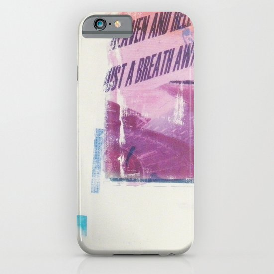 HEAVEN AND HELL 2 iPhone & iPod Case