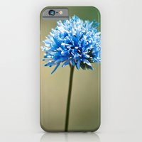 iPhone & iPod Case featuring Blue Cotton by Nicole Rae