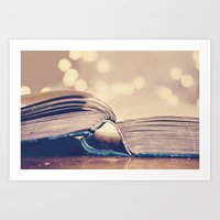 Book Love Art Print
