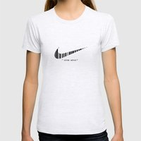 #2 Womens Fitted Tee Ash Grey SMALL
