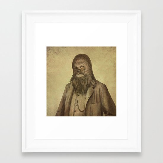 Chancellor Chewman (square format)  Framed Art Print
