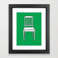 Chair, 2013. Framed Art Print
