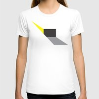 Zap! Womens Fitted Tee White SMALL