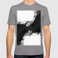 Man Of Isolation Mens Fitted Tee Tri-Grey SMALL