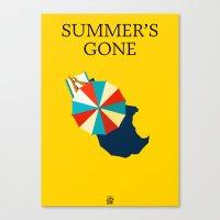 Suumer's Gone Canvas Print