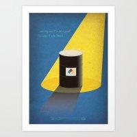 Breaking Bad - A No-Roug… Art Print