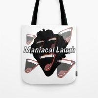 Maniacal Laugh Tote Bag