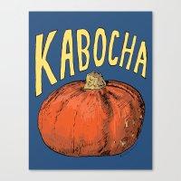 Kabocha Canvas Print
