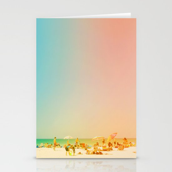 Life in the Sun Stationery Card