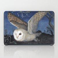 Barn Owl at Night iPad Case