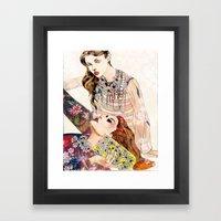 Fashion Necklace  Framed Art Print