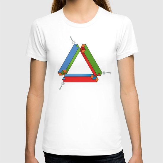 IMPOSSIBLE TRIBAR T-shirt