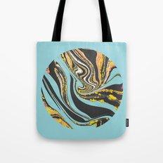 Wavy Marbling Tote Bag