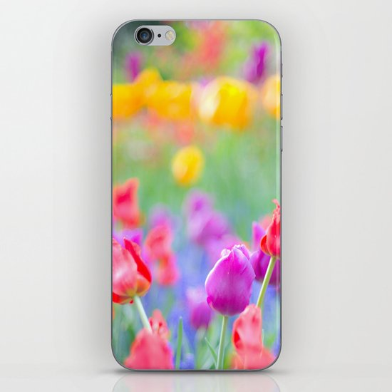 Soft Tulips iPhone & iPod Skin