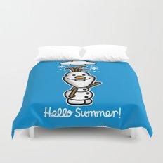 Hello Summer Duvet Cover