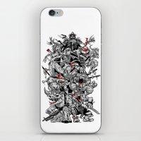 Nuclear Ninja Turtles Bl… iPhone & iPod Skin