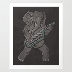 Trunk Rock Art Print