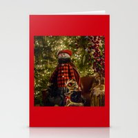 Merry Christams To All!  Stationery Cards