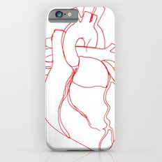 Anatomical heart iPhone 6 Slim Case