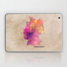 Germany map Laptop & iPad Skin