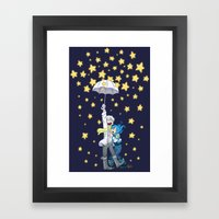 DMMd :: The Stars Are Fa… Framed Art Print