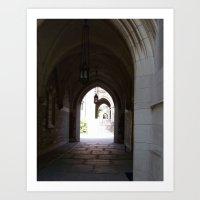 Archway Art Print