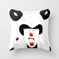 Pand'Hat Throw Pillow