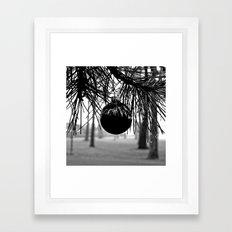 Yuletide solitude Framed Art Print