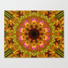 Kaleidoscope - Summer Garden Canvas Print