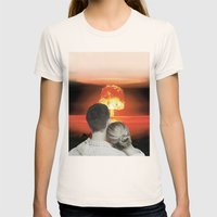Schatz, es ist alles in Ordnung Womens Fitted Tee Natural SMALL