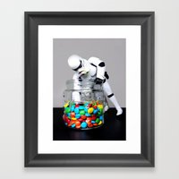 Busted! Framed Art Print