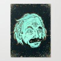 Genius Canvas Print