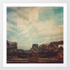 Fractions A15 Art Print