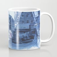Winter Buildings Mug
