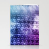 Galaxy Fade Stationery Cards