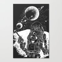 Duke of the Moon Canvas Print