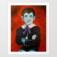 The Munsters Eddie Munst… Art Print