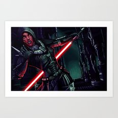 SWTOR - Attack! Art Print