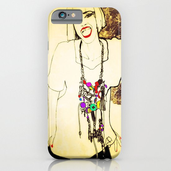 grit & glamour iPhone & iPod Case
