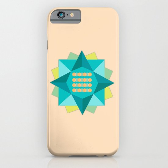 Abstract Lotus Flower - Yoga Print iPhone & iPod Case