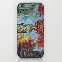 Birdcage Lady iPhone 6 Slim Case