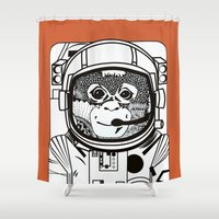 Searching For Human Empa… Shower Curtain