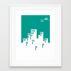 03_WEBDINGS_c Framed Art Print